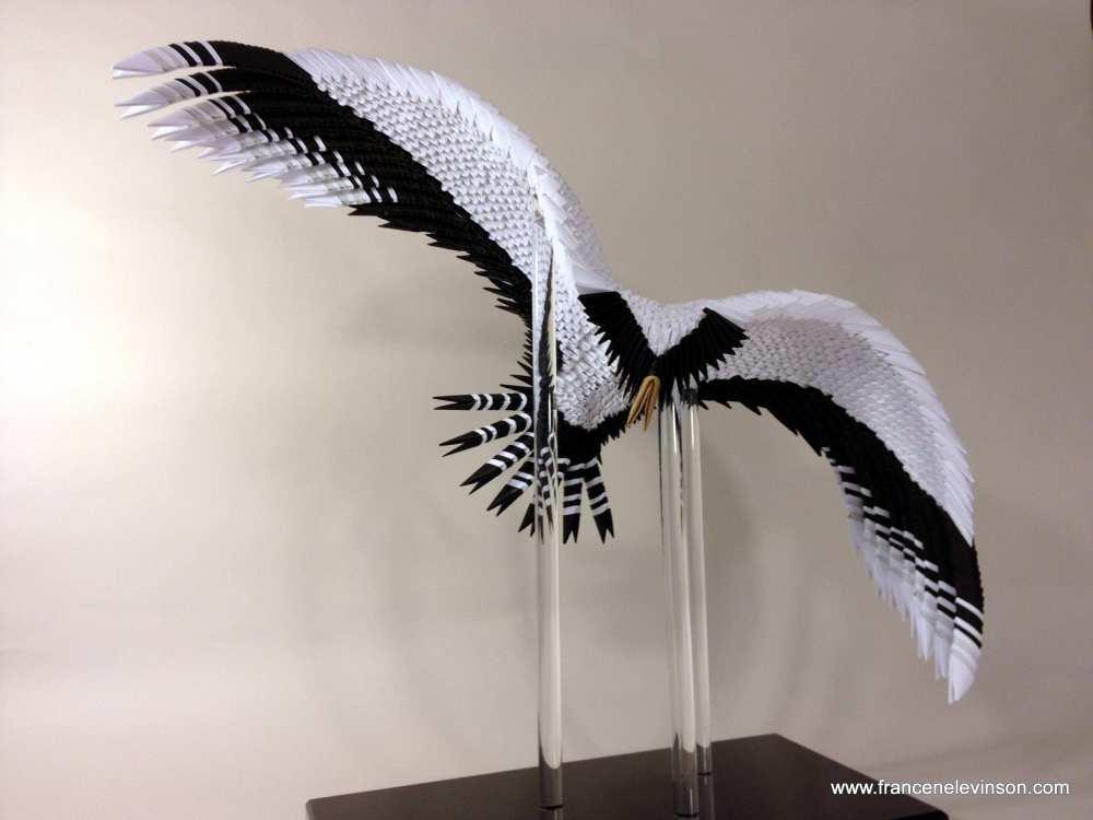 Contemporary Paper Sculptures by Francene Levinson (5/6)